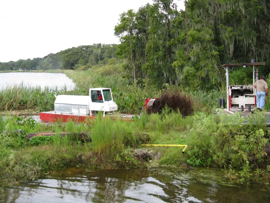 Aquatic vegetation removal