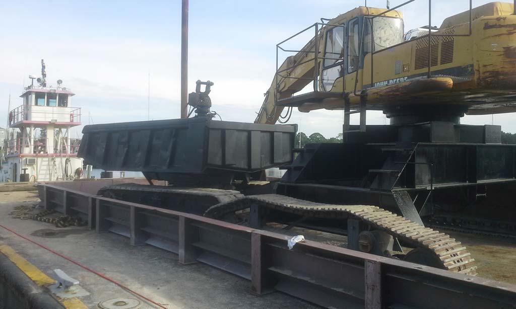 Custom built excavator