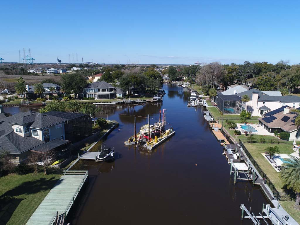 Jacksonville canal dredging