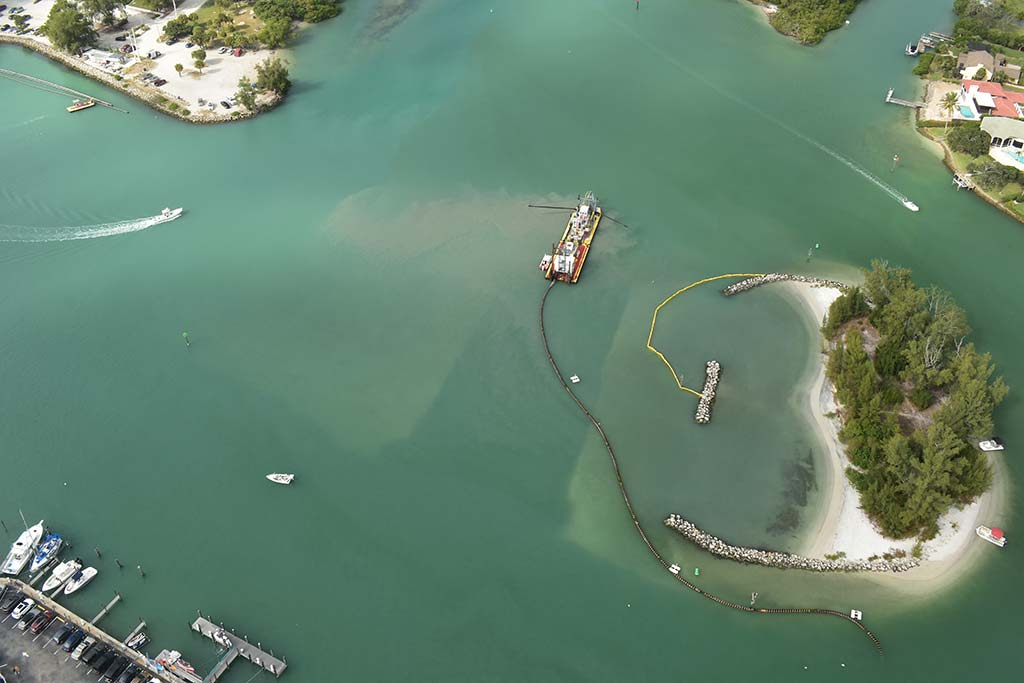 Aerial view from drone, Venice
